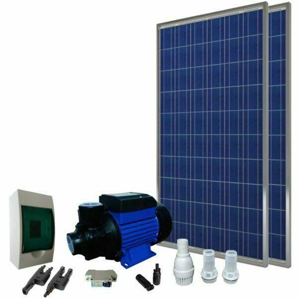 Sistema Bomba Solar de 0.25 HP - Saas Energy Puebla