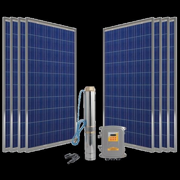 Kit Bomba Solar 55 mts - Saas Energy Puebla