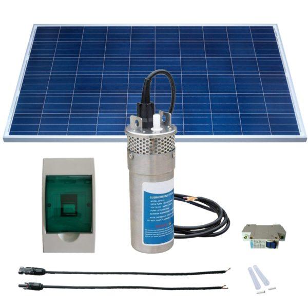 Kit Bomba Solar 15 mts - Saas Energy Puebla