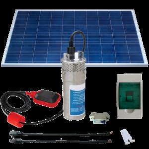 Kit Bomba Solar Automático de 15 mts Metálico - Saas Energy Puebla
